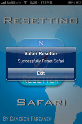Safari Resetter
