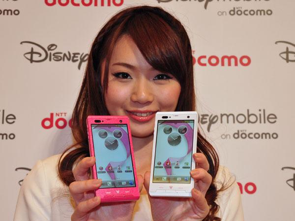 Disney Mobile on docomo F-08D