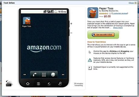 Amazon TEST DRIVE