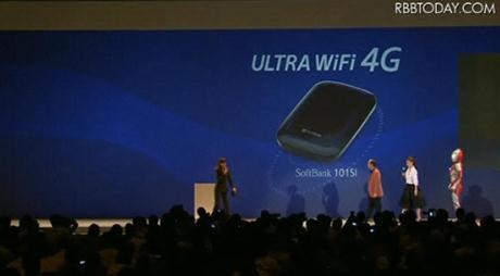 Softbank Ultra WiFi 4G 101SI